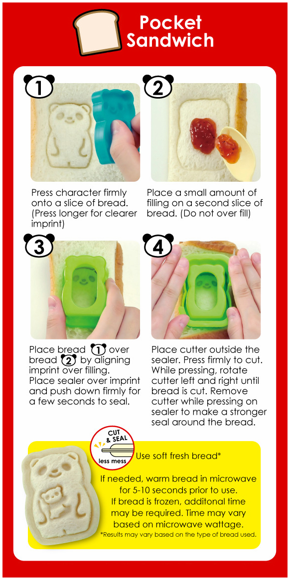 Bento Pocket Sandwich Maker