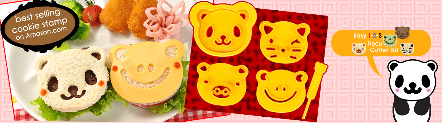 Animal Friends Food Deco Cutter Kit Best Selling stamp on Amazon