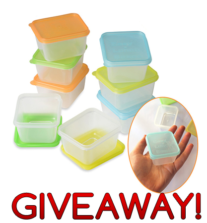 Easylunchboxes mini dippers for sauce and dip in your lunch box