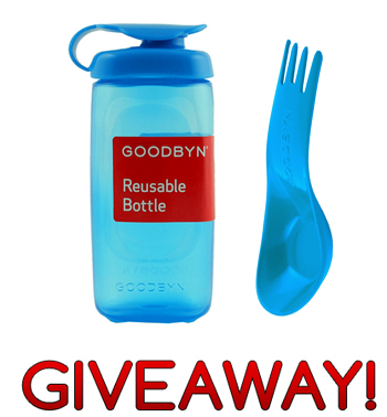 Goodbyn Hero lunch box spork bottle giveaway