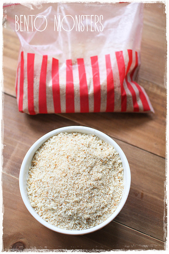 Leftover Bread makes Homemade breadcrumbs by BentoMonsters