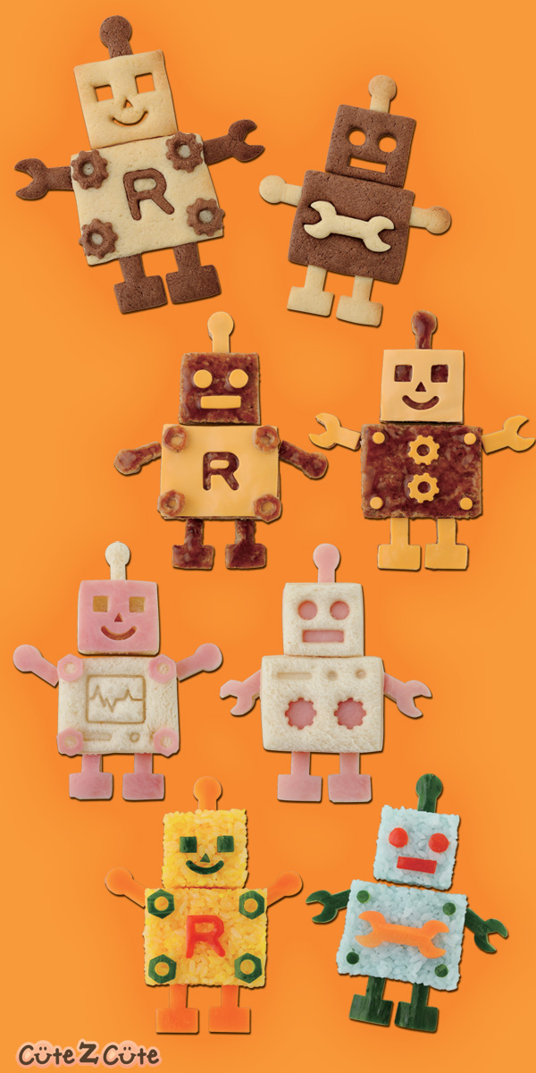 Robot Theme Fun-Food - Party Idea