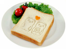 Imprint on Bread
