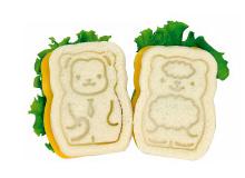 Make normal sandwiches