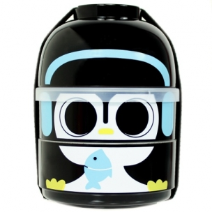 2-Tier Bento Lunch Box - Baby Bento Buddy - Baby Cool Penguin