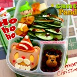 CuteZCute Santa Panda and Cucumber Xmas Tree