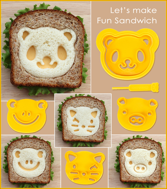 CuteZcute Kids School Lunch Sandwich