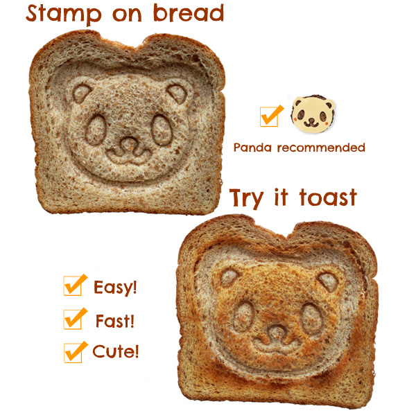 Panda Breakfast Toast