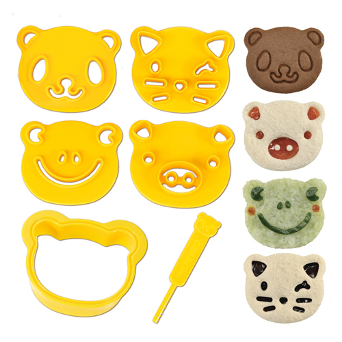 Animal Friends Food Deco Cutter Kit