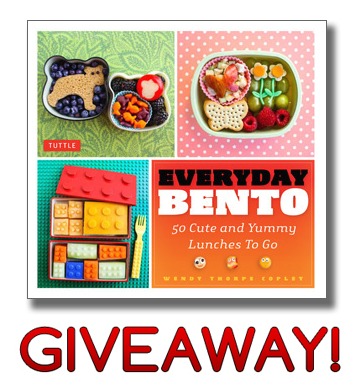 Everyday Bento 50 Bento Idea Cookbook by Wendolonia