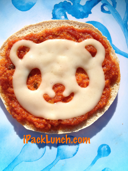 IpackLunch - Panda Mini Pizza