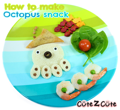 CuteZcute World Animal Day Octopus Afternoon Snack