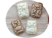 Make Pocket Sandwiches - Panda, Monkey, Sheep, Bat