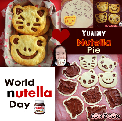 Nutella Pie Recipe, celebrating World Nutella Day (Feb 5)