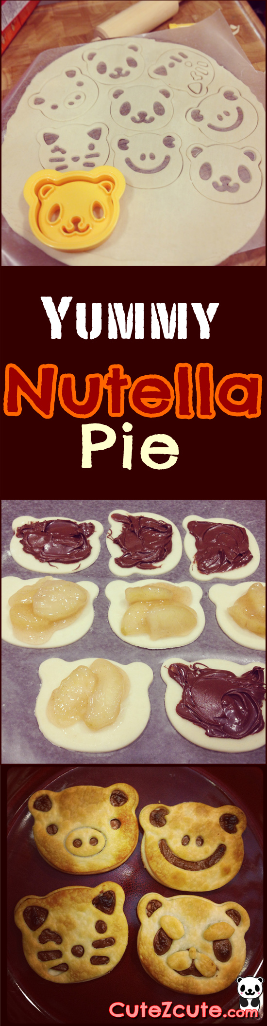 Yummy Nutella Pie #CuteZcute